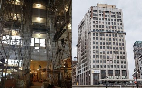 Glimpses of the Renovation Happening Inside the Whitney | Detroit Rebuilding | Scoop.it