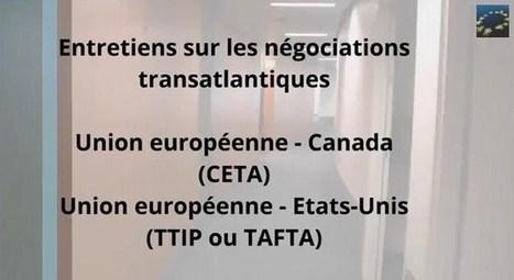 Marché transatlantique : entretiens avec les eurodéputés français | Stopper TAFTA | Scoop.it