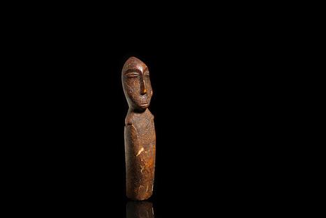 Rare Okvik Eskimo figure leads June Native American Art Auction at Bonhams in San Francisco   Art Daily   Kiosque du monde : Amériques   Scoop.it