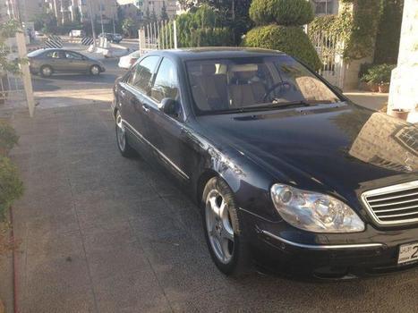 Mercedes-Benz S500 2002 Facelift 2005 - 28000 JDs | Cars For Sale In Jordan | Scoop.it