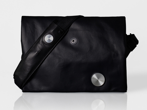 A Smart Bag That Could Be More Useful Than a Smartwatch | WIRED | Wearables | Scoop.it