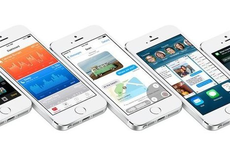 iPhone : les 10 nouveautés d'iOS 8 - Europe1 | Technology news | Scoop.it