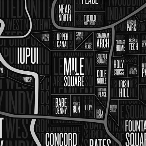 Naplab gives Indy neighborhoods a map | green streets | Scoop.it