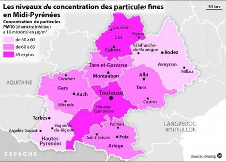 Après Paris, le Grand Sud touché par la pollution atmosphérique | Toxique, soyons vigilant ! | Scoop.it