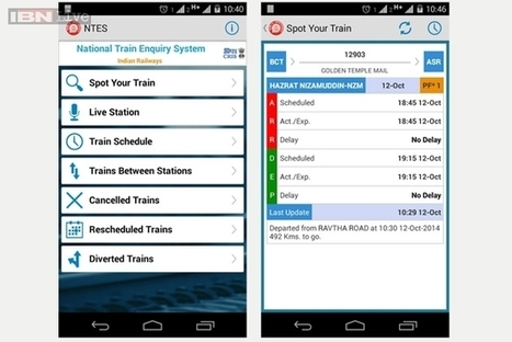 Indian Railways now launches NTES app for Android | Android Application Development | Scoop.it