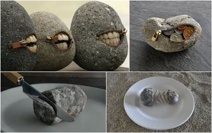 Hirotoshi Itoh: stone sculptures | Hitchhiker | Scoop.it