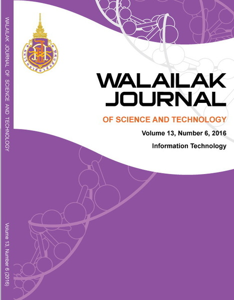 Walailak Journal of Science and Technology - A Scientometric<br/>Analysis from 2010 to 2015 | SCImago on Papers | Scoop.it