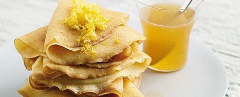 Crêpe di riso al miele e limone | Sale&Pepe | Mangiare diverso | Scoop.it