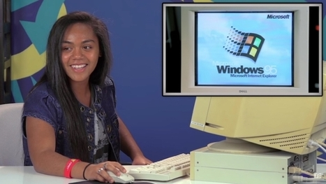 VIDEO: Teens React to Windows 95   Grow Social Net   Scoop.it