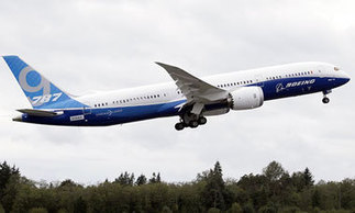 Stretched 787-9 Dreamliner makes first flight   Business ...   Boeing   Scoop.it
