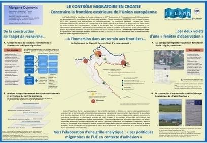 Le contrôle migratoire en Croatie.Outils pour approcher les territoires de la frontière extérieure de l'Union européenne (e-migrinter) | Géographie des Balkans | Scoop.it