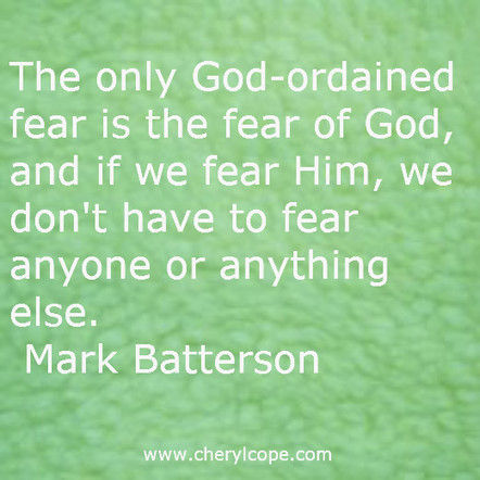 What is the Fear of the Lord? | Cheryl Cope | Christian Devotionals | Scoop.it