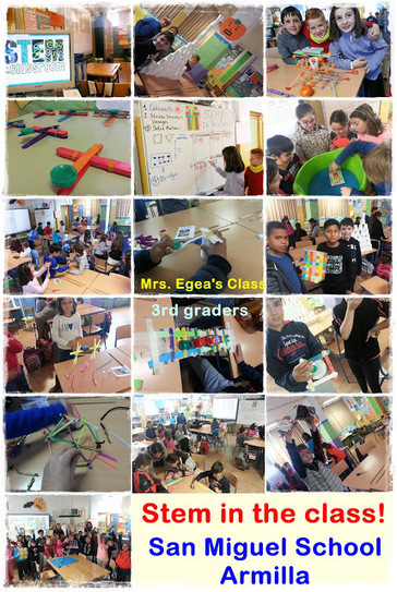 BILINGUAL CLASS: C.E.I.P. SAN MIGUEL. ARMILLA.: STEM IN THE CLASS! 3RD GRADERS IN ACTION! | AICLE Y BILINGÜISMO | Scoop.it