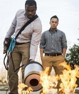 Extintor sônico apaga incêndio com alto-falante   tecnologia s sustentabilidade   Scoop.it