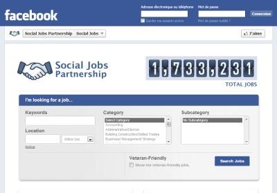 Du nouveau chez Facebook: lancement de son application Social Jobs pour l'emploi | Passionate about Social Media, Web 2.0, Employer and Personal Branding | Scoop.it
