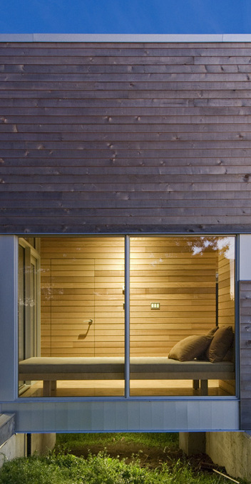 Warm minimalism for serene spa pavilion in Nova Scotia | What Surrounds You | Scoop.it