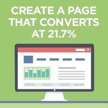 How to Create a Page That Converts at 21.7% (Step-By-Step Case Study) | Social Media Marketing & Management B2B Customer Happiness | Scoop.it