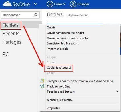 Comment monter un dossier SkyDrive comme lecteur réseau sur Windows 8 et RT | Time to Learn | Scoop.it