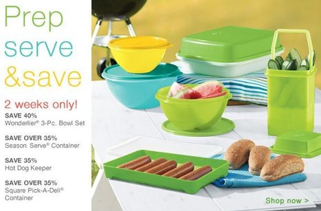 PREP, SERVE AND SAVE! | May Tupperware Specials | Scoop.it