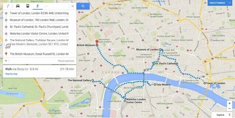 Google Maps Update Adds Multiple Destinations, Drag-And-Drop In Directions - MakeUseOf | Human Geography | Scoop.it