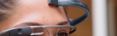 Piloter les Google Glass par la pensée c'est possible avec MindRDR | Présence du futur | Scoop.it