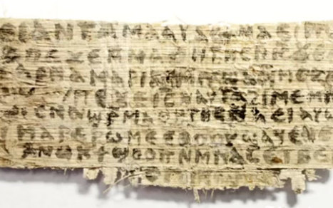 Ancient papyrus could be evidence that Jesus had a wife - Telegraph | Ancient Religion & Spirituality | Scoop.it