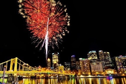 Pittsburgh Area Fireworks - July 4th, 2013 | Pittsburgh Pennsylvania | Scoop.it
