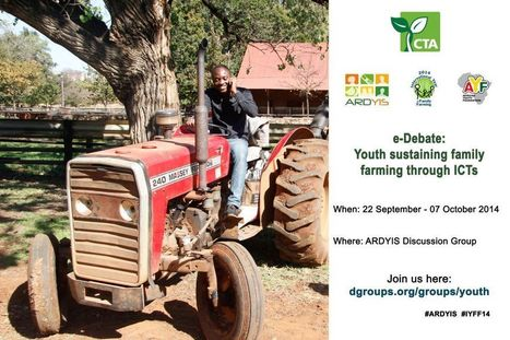e-Debate: Youth sustaining family farming through ICTs | Friday Links | Scoop.it