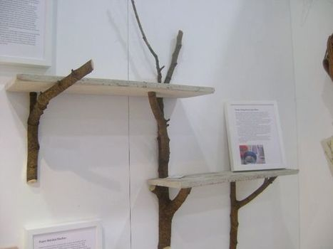 Tree Branch Book Shelves | Decor Hacks | Book Shelves | Scoop.it