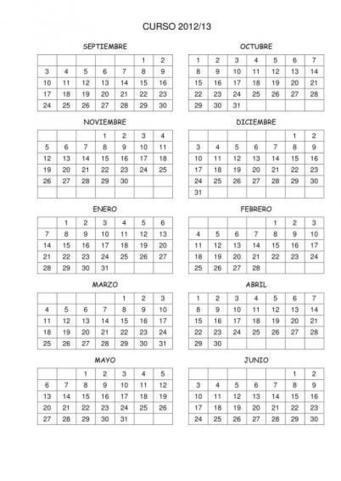 Cuaderno de trabajo, memonotas, planificadores semanales. Editables2012-2013 | Tic, Tac... y un poquito más | Scoop.it