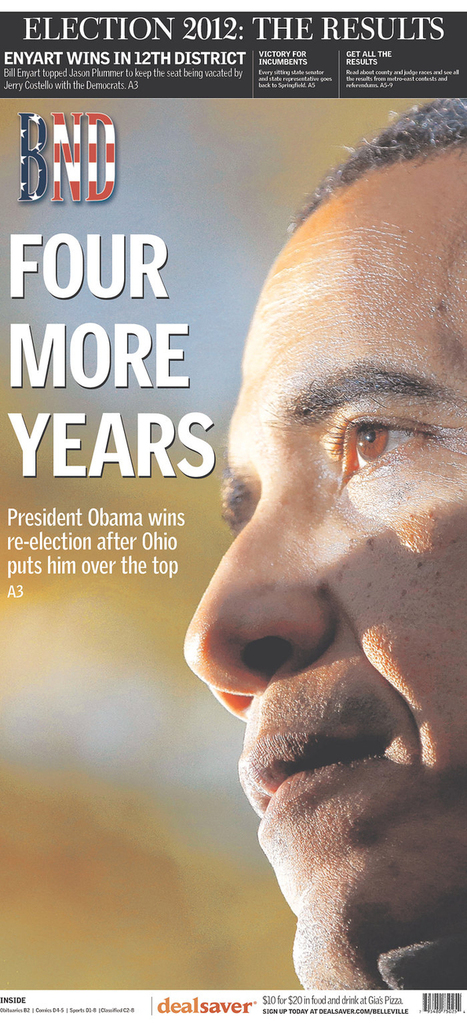 25 election front pages let pictures speak louder with words | Poynter. | Public Relations & Social Media Insight | Scoop.it