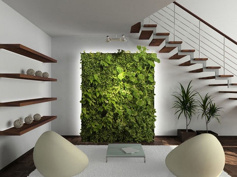 Living Walls: How They Can Improve Your Home and Your Health | Vertical Gardens | Scoop.it