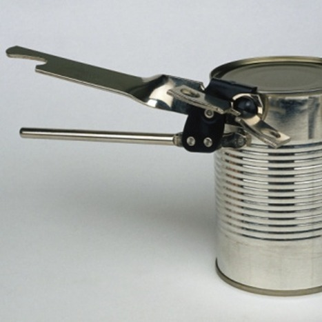 How to open a metal can without using a can opener   Brian's Science and Technology   Scoop.it