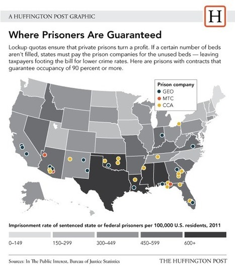 Controversial 'Lockup Quotas' Fuel Private Prison Profits | Criminology and Economic Theory | Scoop.it