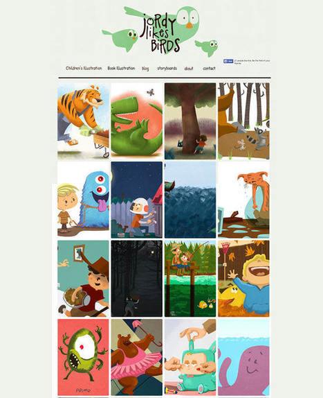 15 Magnificent Artists and Illustrators Websites   Arts in Business?   Scoop.it