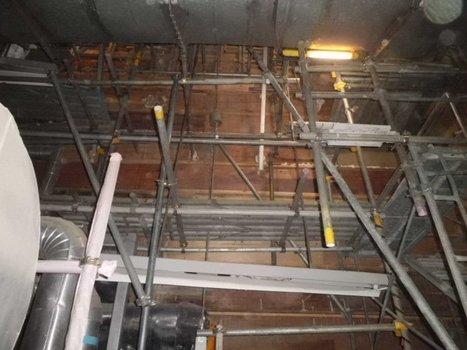 [Photos] La consolidation du fonds de la piscine du réacteur 4  - Tepco - juillet 2011 | Facebook | Japon : séisme, tsunami & conséquences | Scoop.it