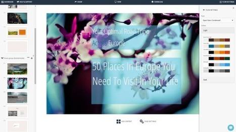 SlideCaptain. Un outil complet pour créer des présentations – Les Outils Tice | Les outils du Web 2.0 | Scoop.it