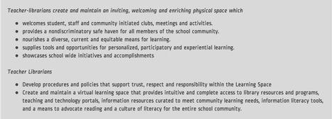 Teacher Librarian Roles | School Library Advocacy | Scoop.it