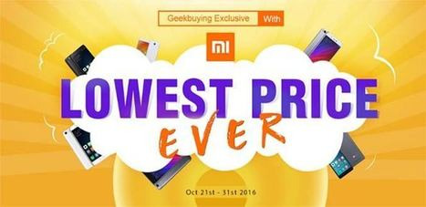 Promozione Xiaomi su Geekbuying | guideitech | Scoop.it
