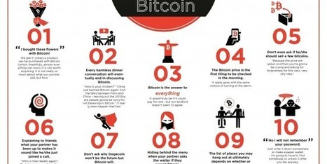 10 Symptoms of having a partner obsessed with Bitcoin [infographic] | spread bitcoin on milan expo 2015 | Scoop.it