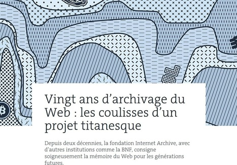 Article du jour (257) : Vingt d'archivage du web ! | Charentonneau | Scoop.it