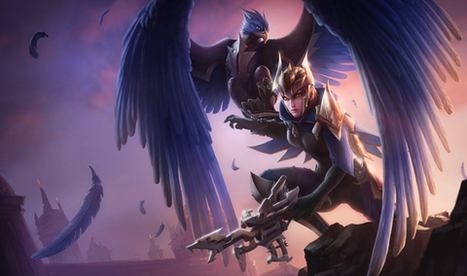 Quinn and Valor, Demacia's Wings, Revealed | LoL - League of Legends | League News | Scoop.it