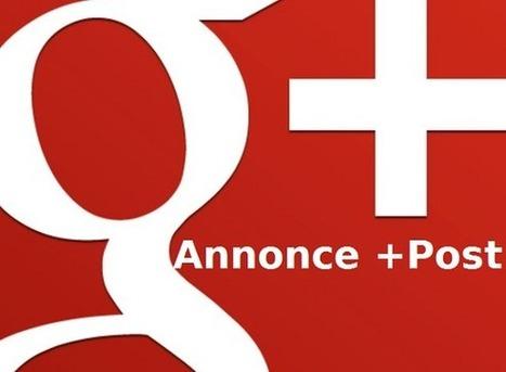 Les annonces +Post acceptent désormais les sondages Google+ | _Web Social Analytics | Scoop.it
