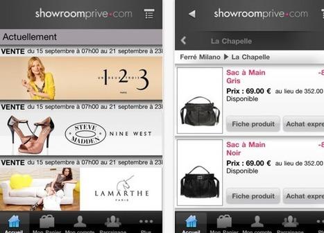 [M-commerce] Showroomprivé réalise plus de 10% de son CA sur mobile | showroomprivé.com, mcommerce | Scoop.it