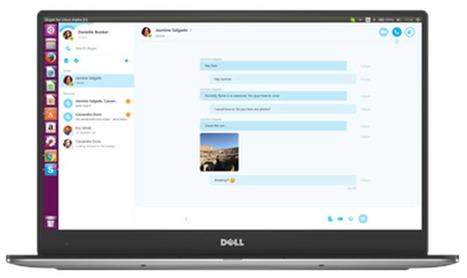 Microsoft lleva la función de vídeo-llamadas a Skype alfa para Linux   Bits on   Scoop.it