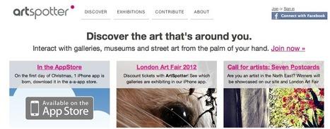 ArtSpotter   Art galleries   Scoop.it