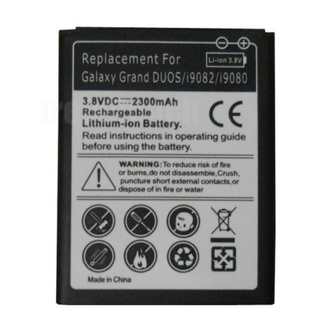 Samsung Galaxy Grand DUOS I9082 2300mAh Standard Rechargeable Battery | News For Electronic Parts | Scoop.it