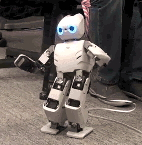 "Robotic Toddler Learns to Stand by ""Imagining"" How to Do It 