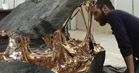 Romain casse les codes de la nature à travers des sculptures hallucinantes | SCULPTURES | Scoop.it