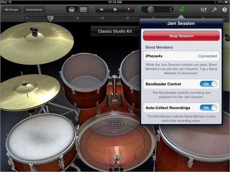 Apple GarageBand 1.3 (for iPad) review - ITProPortal | iPad apps for music | Scoop.it